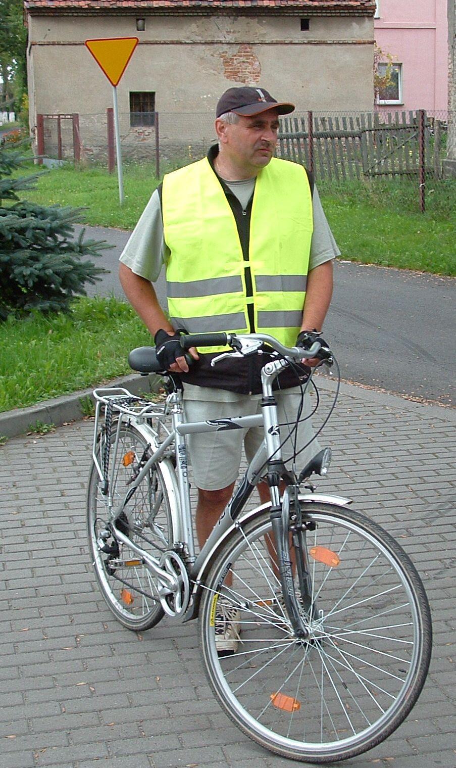 Krzysztof Tomczak - wycieczka rowerowa 07.09.2009, autor S.Duda