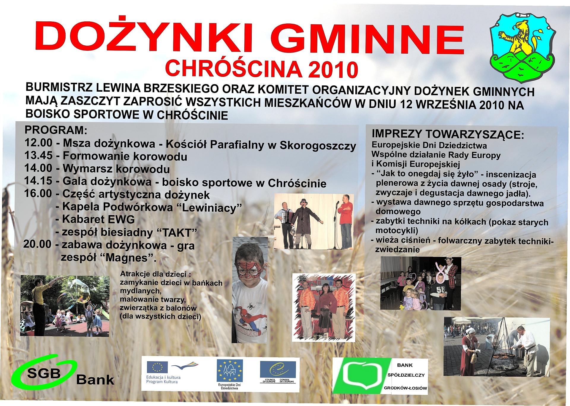 plakat dozynki 2010