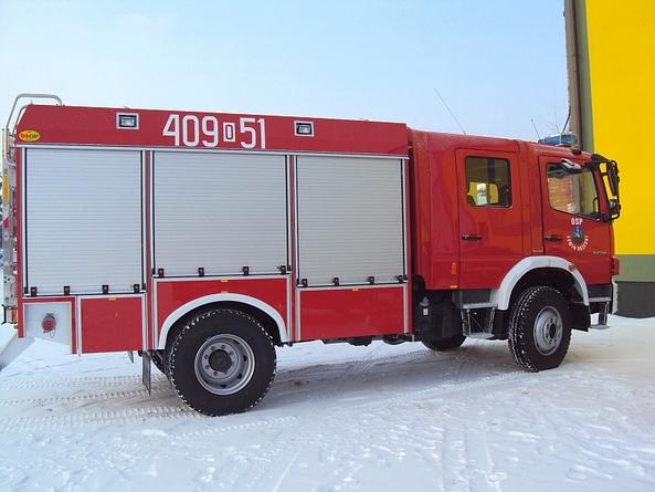 Nowy wóz bojowy OSP w Lewinie Brzeskim