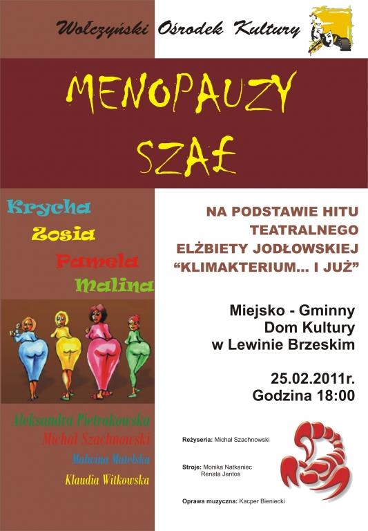 Menopałzy szał - plakat