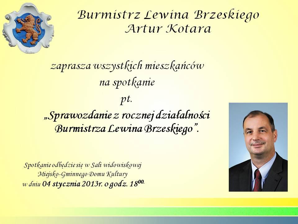 Zaproszenie na spotkanie z Burmistrzem.jpeg