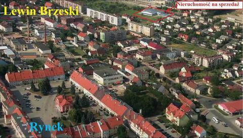 Lewin Brzeski, widok przez Miasto na nieruchomość gotową do rozpoczęcia działalności gospodarczej.jpeg