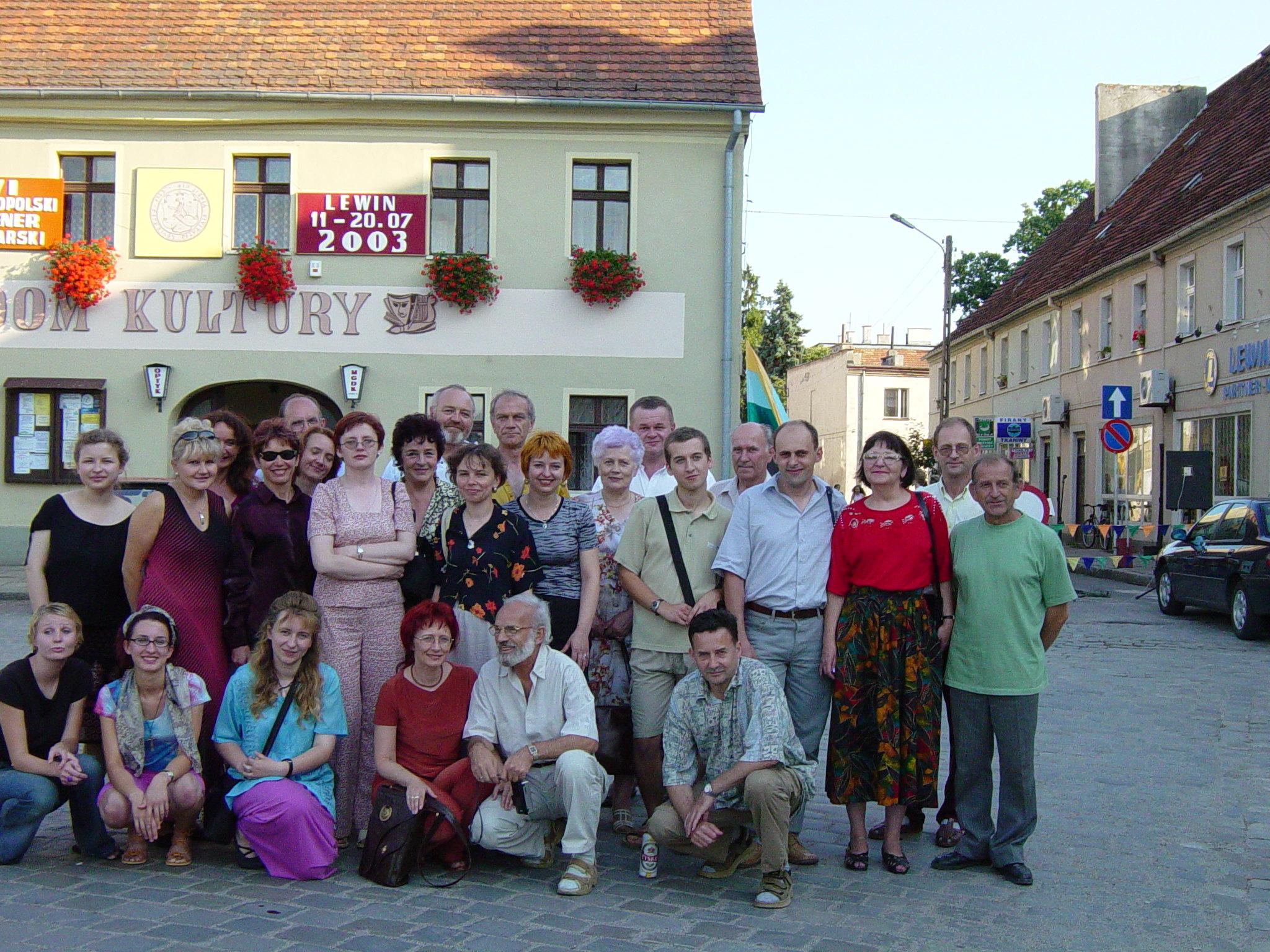 Uczestnicy Pleneru 2003