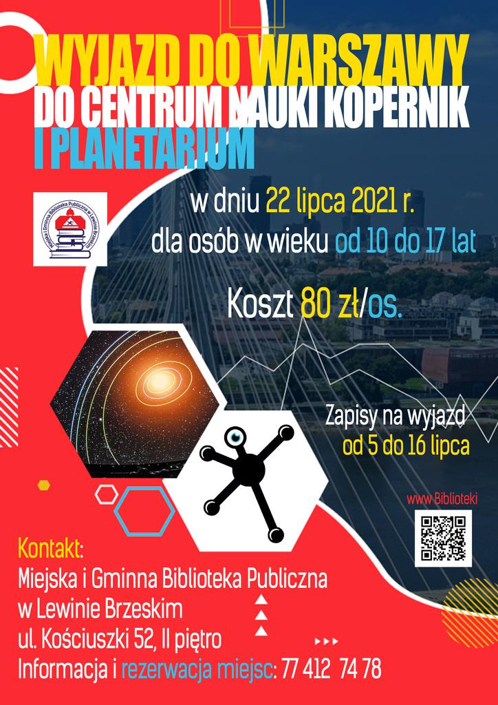 Plakat wakacyjny wyjazd do Warszawy.jpeg