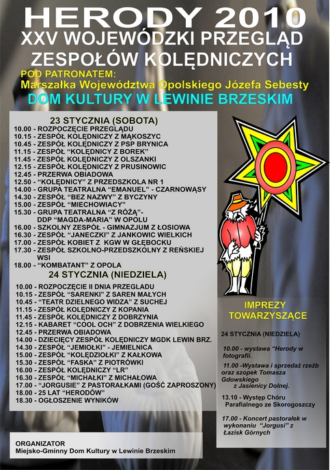 HERODY plakat 2010