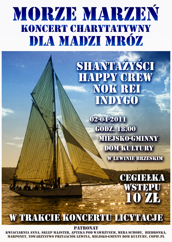 Koncert charytatywny na rzecz Madzi Mróz