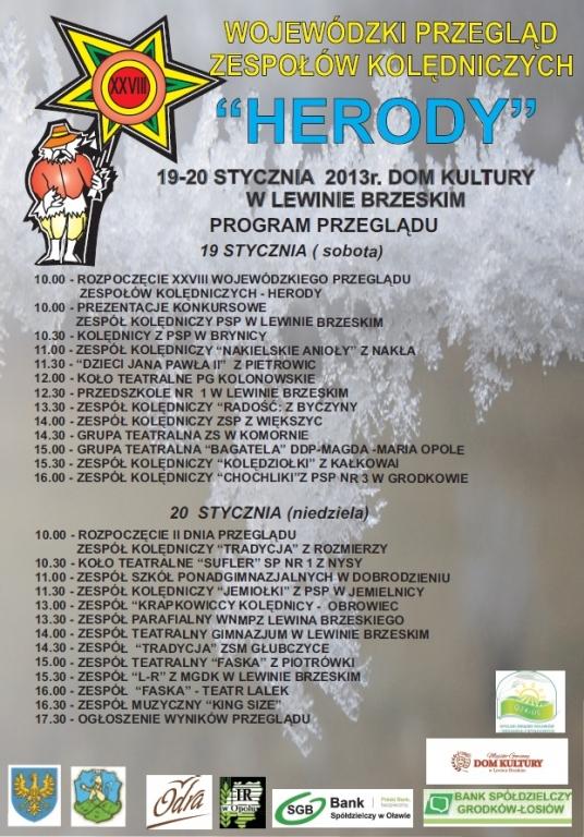 Program Herody 2013