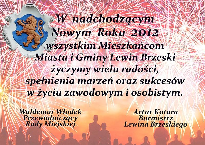 życzenia 2012 małe