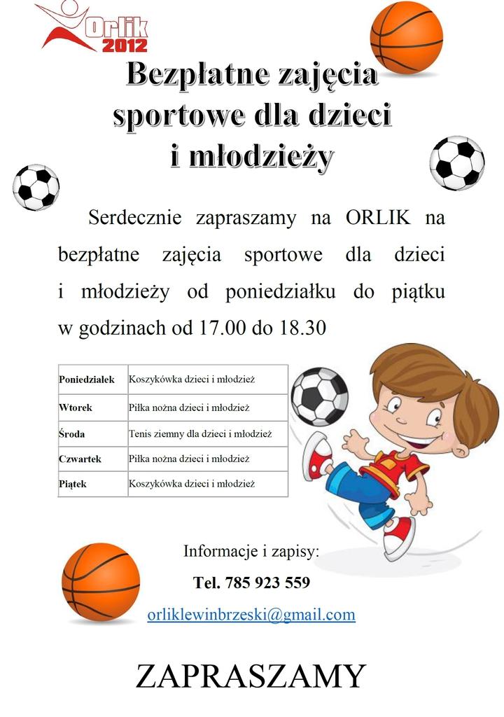 Bezpłatne zajęcia sportowe - Orlik.jpeg