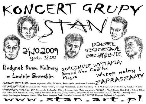 Plakat STAN -m