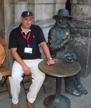 Krzysztof Tomczak - Kraków Piwnica Pod Baranami - czerwiec 2007, autor S.Duda