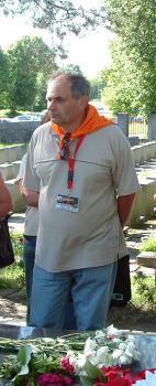 Krzysztof Tomczak - Wilno 27.06.2008, autor S.Duda