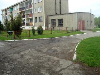 Droga Borkowice - Błażejowice przed remontem
