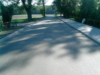 Droga Borkowcie - Błażejowice po remoncie