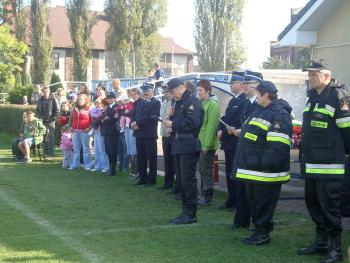 Zawody sportowo - pożarnicze w Lewinie Brzeskim