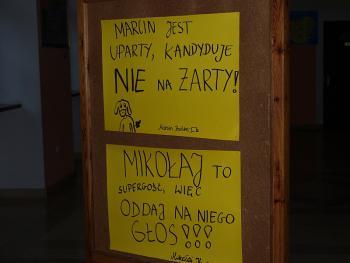 Wybory do Samorządu w Gimnazjum w Lewinie Brzeskim