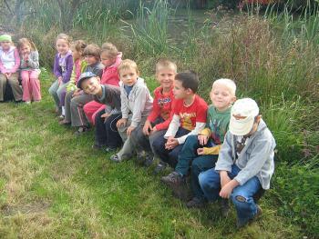 Wycieczka do Biadacza - Przedszkole nr 1 w Lewinie Brzeskim