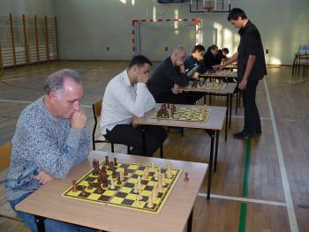 Turniej szachowy w Skorogoszczy