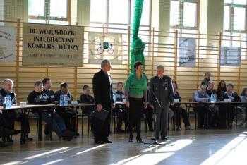 III Wojewódzki Integracyjny Konkurs Wiedzy w Lewinie Brzeskim