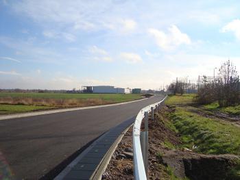 ul. Kolejowa po rozbudowie