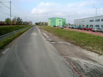 ul. Kolejowa przed rozbudową