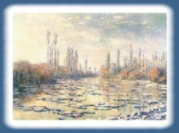 Odwilz-Claude-Monet