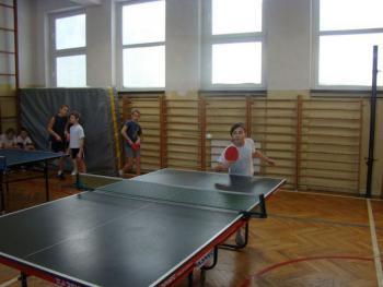 Zawody w tenisie stołowym w Łosiowie
