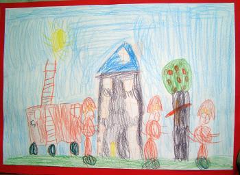 Łukasz Kozioł - lat 9 - Świetlica Terapeutyczna