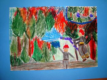 Martyna Sierakowska - lat 7 - Szkoła Podstawowa w Lewinie Brzeskim