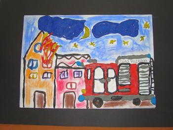 Paulina Skulska - lat 7 - Szkoła Podstawowa w Lewinie Brzeskim