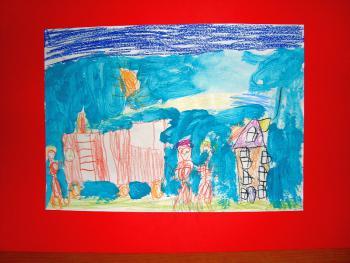 Łukasz Kozioł - lat 9 - Świetlica Terapeutyczna 1