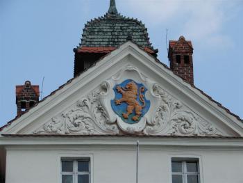 Ratusz w Lewinie Brzeskim