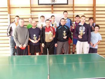 XII Turniej Tenisa Stołowego w Łosiowie