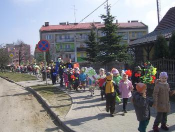 Przedszkolaki żegnają wiosnę