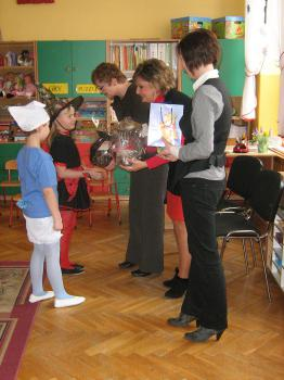 Ewaluacja zewnętrzna w Przedszkolu Nr 1 w Lewinie Brzeskim1