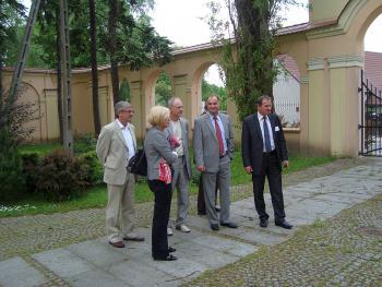 Posłowie PiS w Lewinie Brzeskim