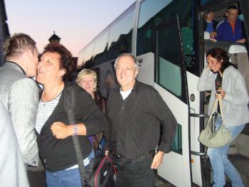 Przyjazd Węgrów do Lewina