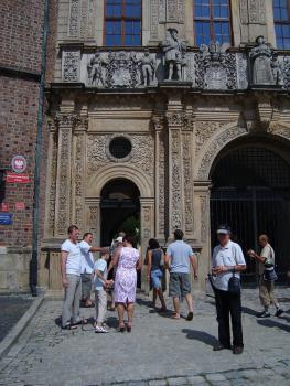 Węgrzy na zamku Piastów Śląskich