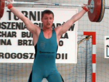 V Turniej w Podnoszeniu Ciężarów w Skorogoszczy - Bartłomiej Barth