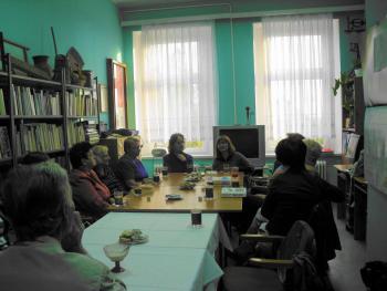 Spotkanie autorskie z Katarzyną Leżeńską