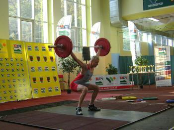 Międzywojewódzkie Mistrzostwa Młodzików w podnoszeniu ciężarów Wałbrzych 2011