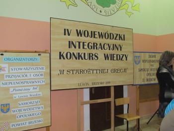 IV Wojewódzki Integracyjny  Konkurs Wiedzy