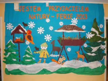 Zimowe ferie w Świetlicy Terapeutycznej