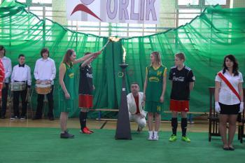 Moje boisko Orlik 2012 - uroczystość otwarcia