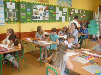 Spotkanie z poezją w PSP w Skorogoszczy