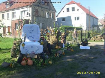 I miejsce w konkursie Najpiękniejsza Zagroda Dożynkowa 2013 - Rodzina Guźniczak