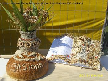Udział w konkursie Korony Dożynkowe Wieńce i Prace Plastyczne 2013 - Jasiona