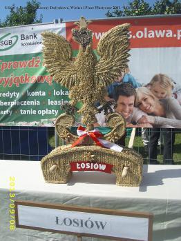 Udział w konkursie Korony Dożynkowe Wieńce i Prace Plastyczne 2013 - Łosiów