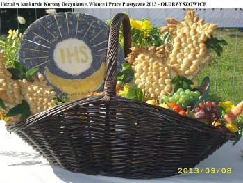 Udział w konkursie Korony Dożynkowe Wieńce i Prace Plastyczne 2013 - Oldrzyszowice