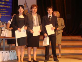 Gimnazjalista laureatem XIII Wojewózkiego Konkursu Matematycznego